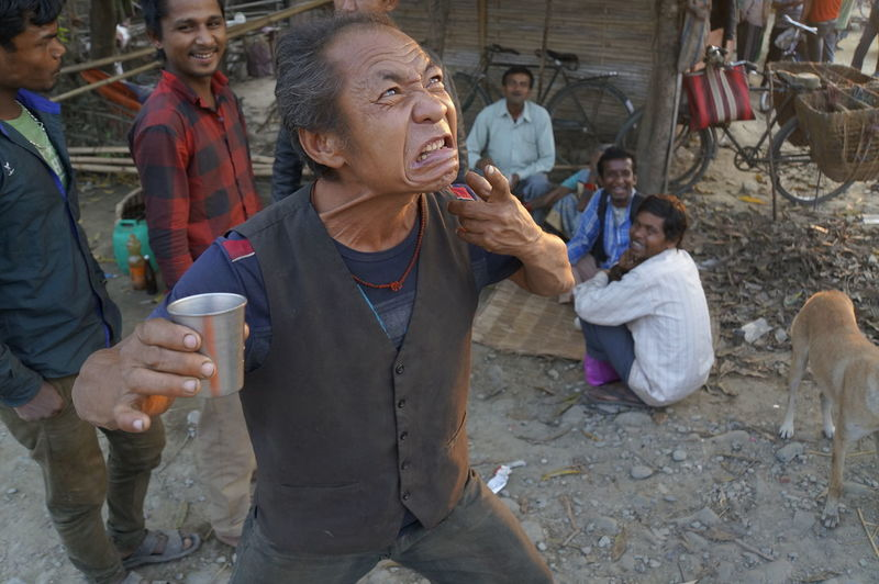 Drinking games Beer Time Day Drinking Games Fooling Around Lifestyles Mature Adult Men Nepal Outdoors People Real People EyeEm Diversity
