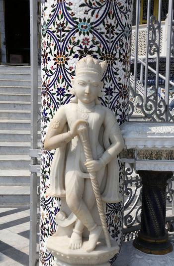 Jain Temple, Kolkata, West Bengal, India Jainism Architecture Art And Craft ASIA Calcutta Carving Faith Famous Places India Jain Jain Temple Kolkata Monument Mysticism Religion Sculpture Shrine Spirituality Statue Temple West Bangal Worship