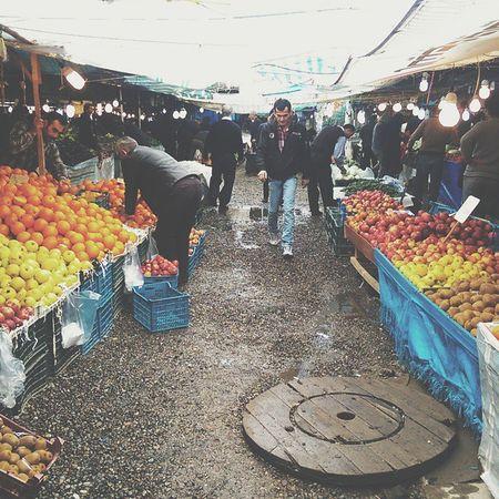 گیلان رشت بازار میوه عیدgilanrashtiran