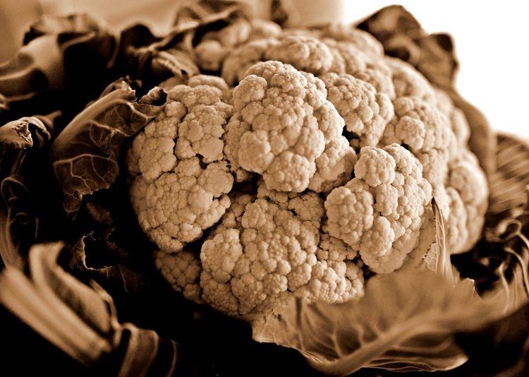 Close-Up Of Cauliflower