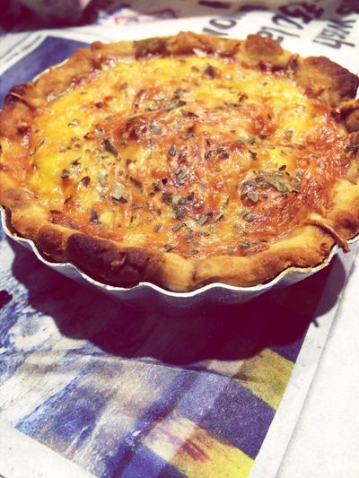 Tomatobasilandcheese Quiche Food I Am Loving It !! Love On A Platte