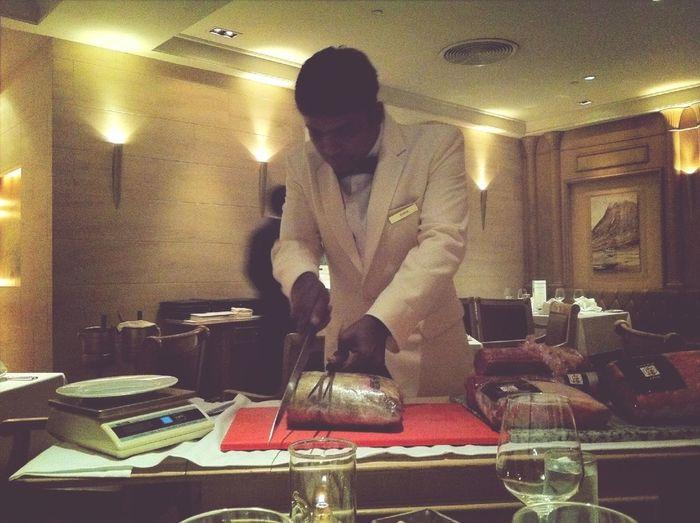 Steak Cutting