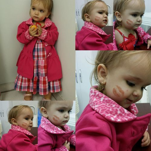 My Angry Niece 💕 Yesterday ❤ 😂😂😂😂 Mybeautiful MyLove❤ Babyangel Baby ❤ Kids Babygirl Kisses 💋💋💋 Very Alot Love People Photography My Heart ❤ Myeyes Mybaby❤ Niece Emanuelly Mysweetbaby