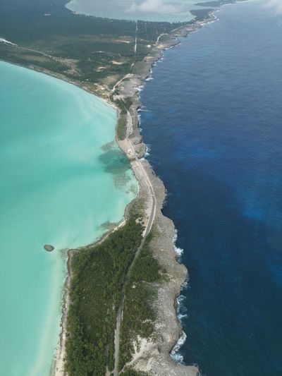 Glass Window Bridge, North Eleuthera - Bahamas Bahamas North Eleuthera Aerial Aerial View Aerial Photography Water Tree Sea Beach Sand Hot Spring Aerial View Blue Summer High Angle View Seascape Tide Coast Wave Island Geology Turquoise Colored Physical Geography Coastal Feature Lagoon