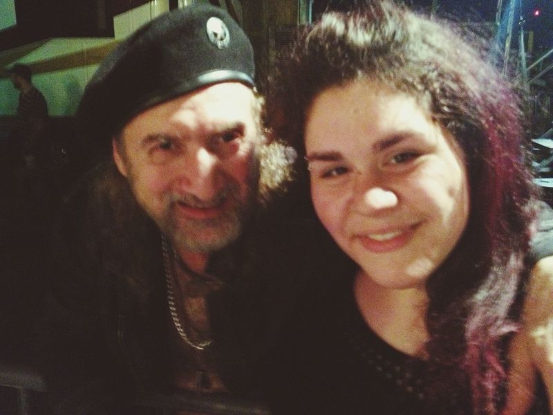 i had the honor to meet Sergey from Gogol Bordello. Fantastic band, and a fantastic show. :)