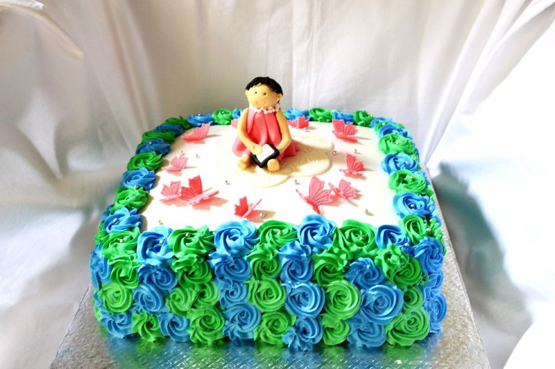 Cake for my daughter Cake Icing Suger Theme Cake Bakery