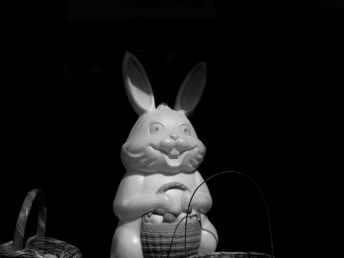 Happy Easter BW_photography Black & White