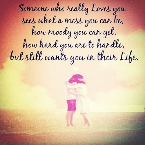 Thay one person Love Quotes