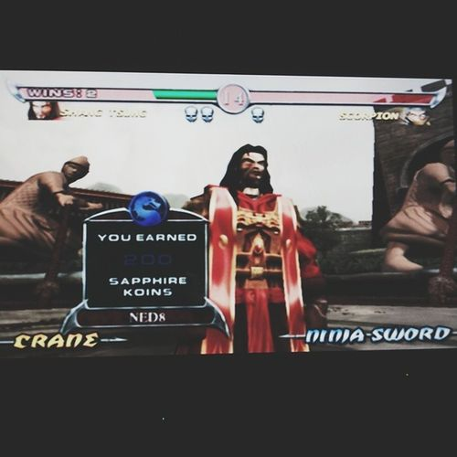 Matando as saudades do PS II. Vaaai Shang Tsung! MK Ps2 Wknd TBT