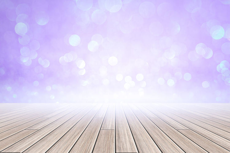 White wood floor purple bokeh background Brightly Lit Surface Level Beauty In Nature Celebration Flooring Event Bright Defocused Day Textured  Nature Focus On Foreground Outdoors Backgrounds Pattern No People Copy Space Pink Color Wood - Material Luxury Abstract Interior Display Vintage Board Dark Decoration Design Plank Blurred Counter Orange Space Floor Surface Light White Bokeh Wood Background Brown Table Wooden Empty