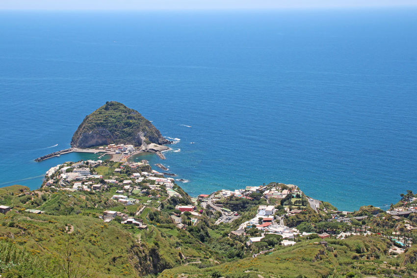Sant'Angelo d'Ischia Beauty In Nature Cliff Hill Horizon Over Water Idyllic Ischia Italia Italy Landscape Mountain Nature Ocean Outdoors Rock Rock Formation Sant'angelo Scenics Sea Sky Tranquil Scene Water