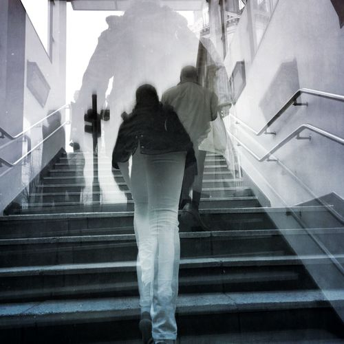 Perspectives Silhouette NEMstreet NEM Street People Photography From My Point Of View Stairs Streetphotography Peoplephotography Editjunky