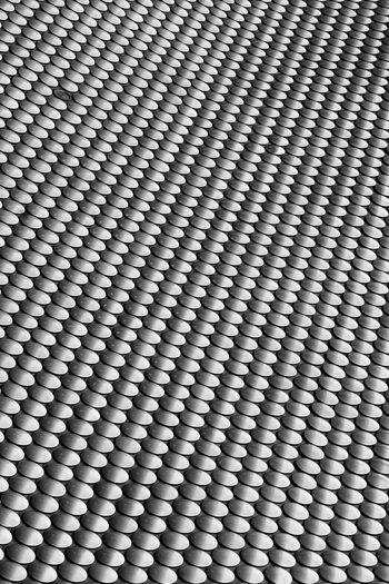 Full frame shot of patterned metal fascade