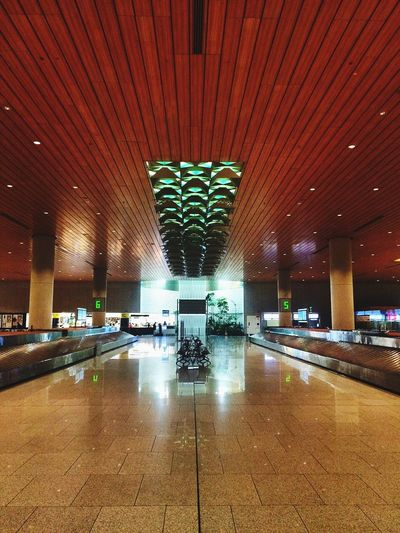 At The Terminal In The Terminal Baggage Carousels Open Edit Amazing Architecture