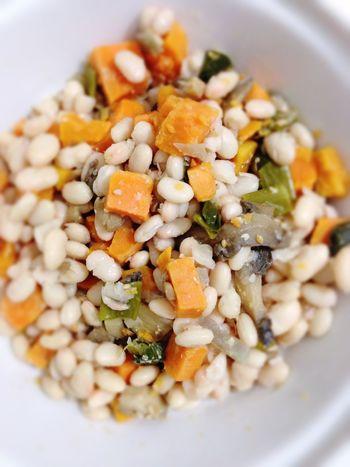 Legume Sweet Potatoes Vegetables POV Beans Dinner Vegan Food 365 Photos In 2015 Vegetarian Food Onions
