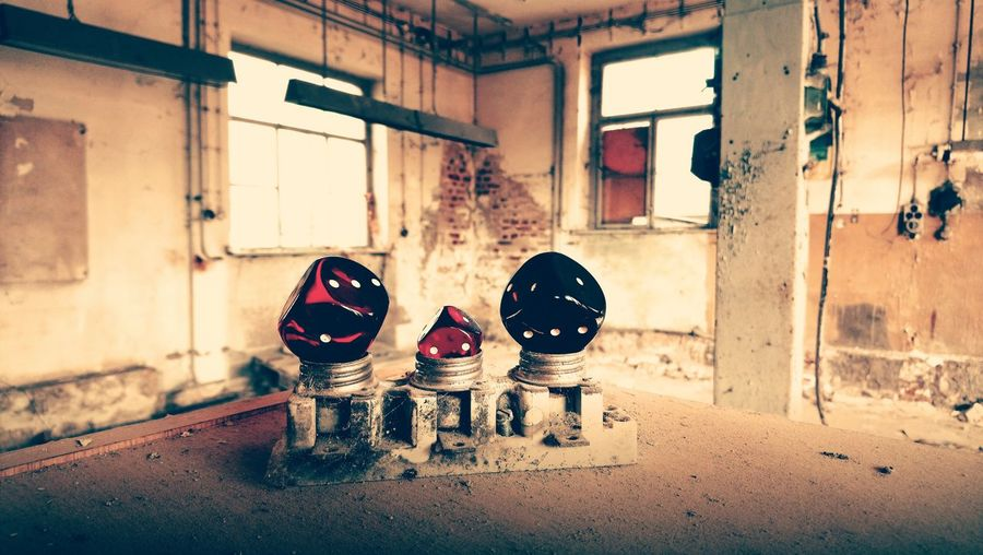 Dices In Abandoned Factory