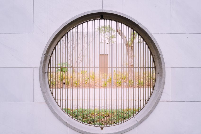 Window Circle Architecture No People Built Structure Day Building Exterior Outdoors Close-up