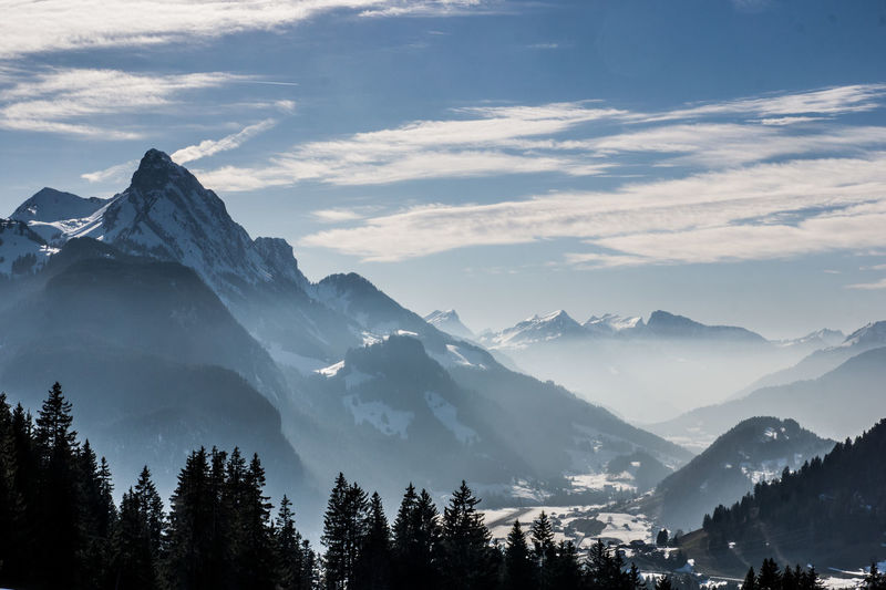 Rüeblihorn Aerial Perspective Aerial Photography Aerial View Beauty In Nature Blue Cold Temperature Day Foggy Gstaad Landscape Mountain Mountain Range Nature No People Outdoors Peak Range Rüebli Saanen Scenery Scenics Snow Switzerland Valley Winter Shades Of Winter