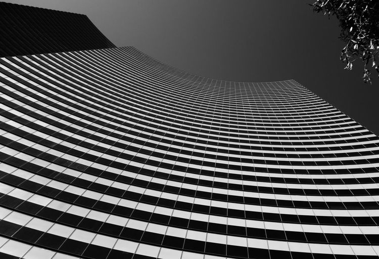 Architecture Architecture Blackandwhite Bnw Building Built Structure Bw Las Vegas Low Angle View Modern Mono Monochrome Outdoors Pattern Repetition Sky Tall Tall - High Vdara The Architect - 2016 EyeEm Awards
