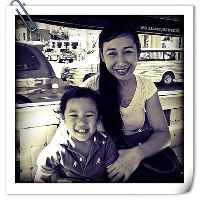 Zian & Zaychee. Motherandson  Marcuszian @zaychee Love