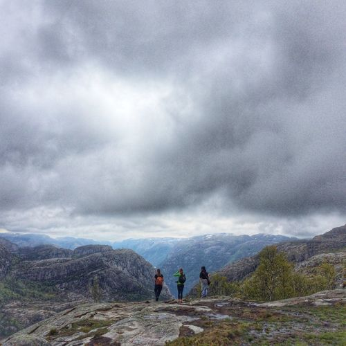IPhoneography People People Watching People Photography Clouds And Sky Nature Nature_collection EyeEm Nature Lover Travel Norway