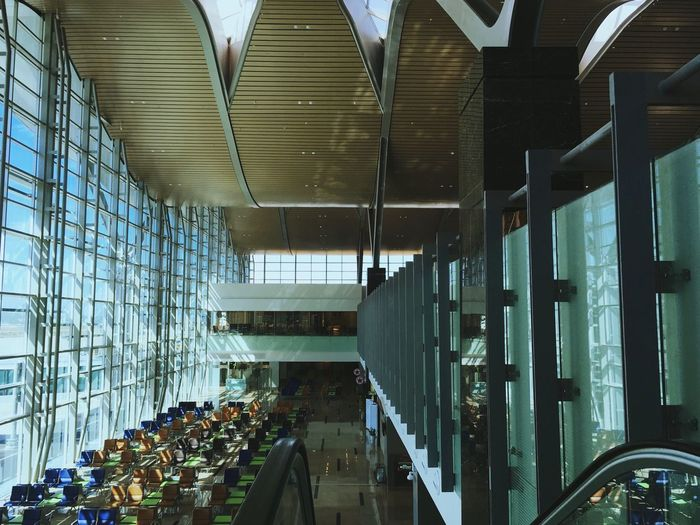 Architecture Built Structure Indoors  Incidental People Building Glass - Material Transportation