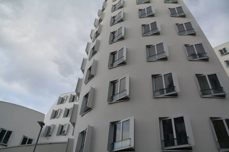 Apartment Architecture Balcony Building Building Exterior Built Structure City Composition Day Development Exterior Façade Low Angle View Modern Outdoors Perspective Residential Building Residential Structure Structure Urban Window