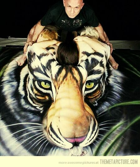 One of the most Amazing body paint