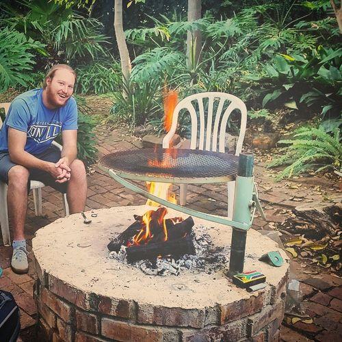 Braaivleis Braai Southafrica Pretoria Friends Chilled Fire