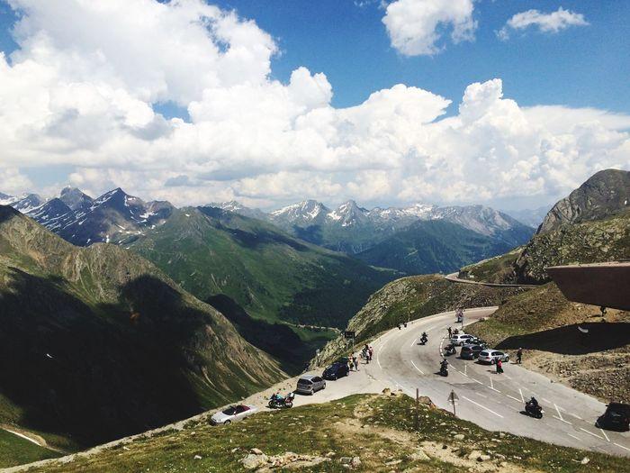 Landscape Alps Road Pass Nature Südtirol Timmelsjoch Passo Rombo