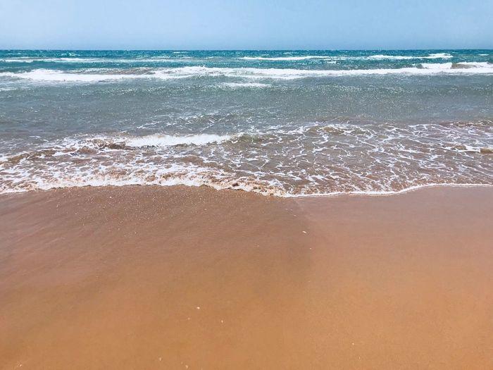 Sea Beach Water Land Beauty In Nature Horizon Over Water Sky