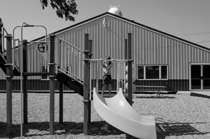 Visual Journal June 2017 Clatonia, Nebraska A Day In The Life Camera Work Clatonia, Nebraska EyeEm Gallery FUJIFILM X-T1 Fujinon 10-24mm F4 Getty Images Nikon Sb800 Photo Essay Playground Equipment Visual Journal B&w Photography Built Structure Childhood Day Outdoors Park Photo Diary Playground Practicing Photography Small Town Stories