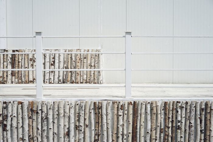 Architectural Detail Design Architecture White Birch Wood Wood - Material Wood Wall No People Close-up Wooden Textured  Entryway Detail The Architect - 2018 EyeEm Awards