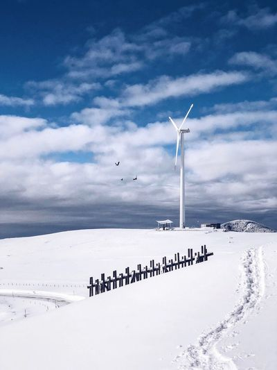 Österreich Austria Snow Winter Mountain Mountains Sky Cloud - Sky Nature Cold Temperature Large Group Of People Snow Winter Outdoors Weather Beauty In Nature Day Scenics Wind Turbine Landscape Wind Power Windmill Industrial Windmill