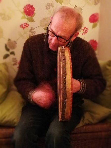 One Man Only Bodhran Folk Music Bodhran Player