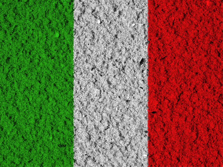 Italian flag Backgrounds Close-up Day Full Frame Grass Green Color Italy Italy Flag Nation Nature No People Outdoors Red Rome Rome Italy State Textured