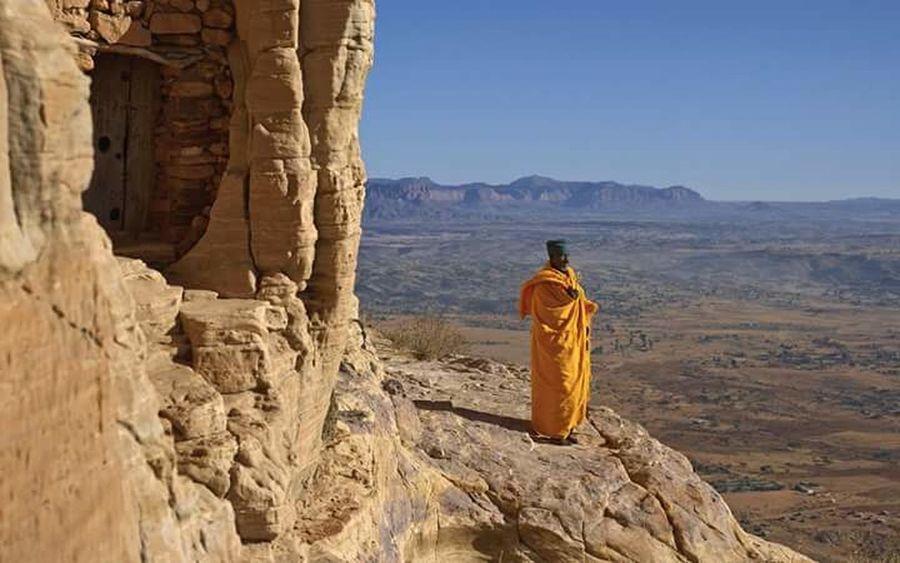 Some secret place in Ethiopia.