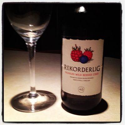 Don't care that it's tues I feel like one! :-) Rekorderlig Cider