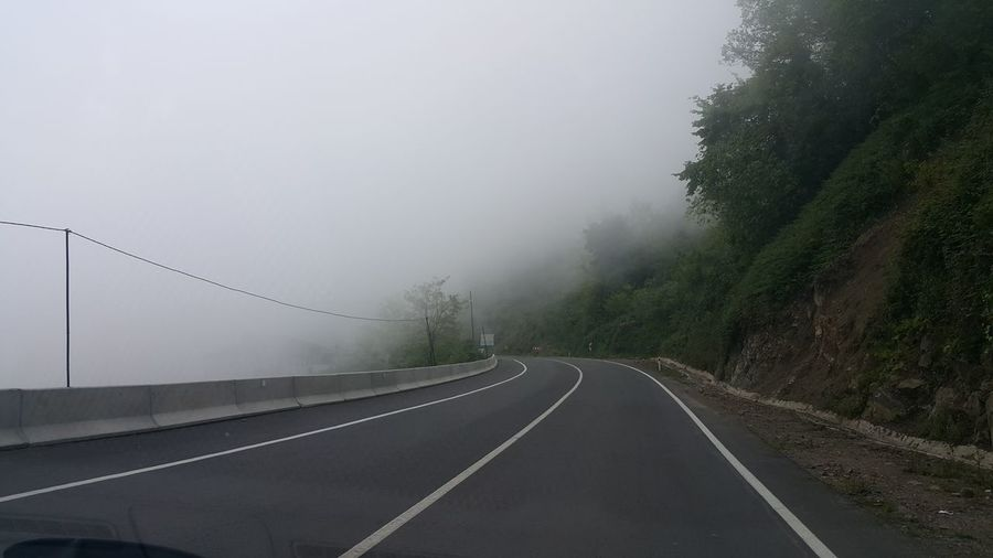 Foggy Road Travel Road Driving Transportation Turkey Foggy Day Foggy Forest Cyclone Tree Thunderstorm Fog Road Extreme Weather Winter Torrential Rain Weather Storm Rainy Season Country Road It's About The Journey