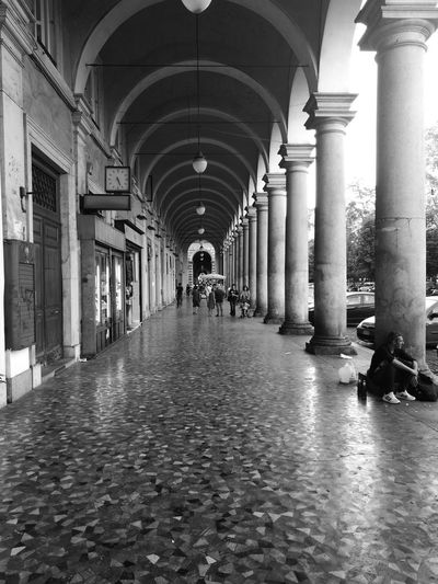 Architectural Column Architecture Arch Built Structure Huawei P9. Leica Huawei P9 Blackandwhitephotography Blanco Y Negro.