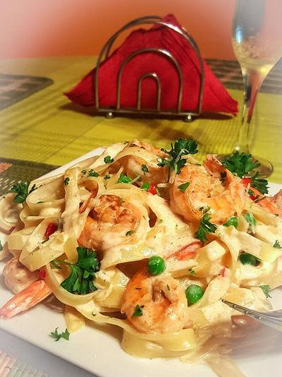 Foodphotography Shrimp Fettuccine