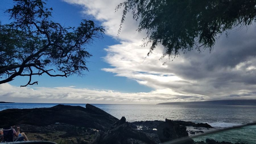 EyeEmNewHere Natural Beach Maui Hawaii Beachday Sky Sea Cloud Beachinmaui Blueskies Pacificocean Southside Peaceful Place Beauty Nature