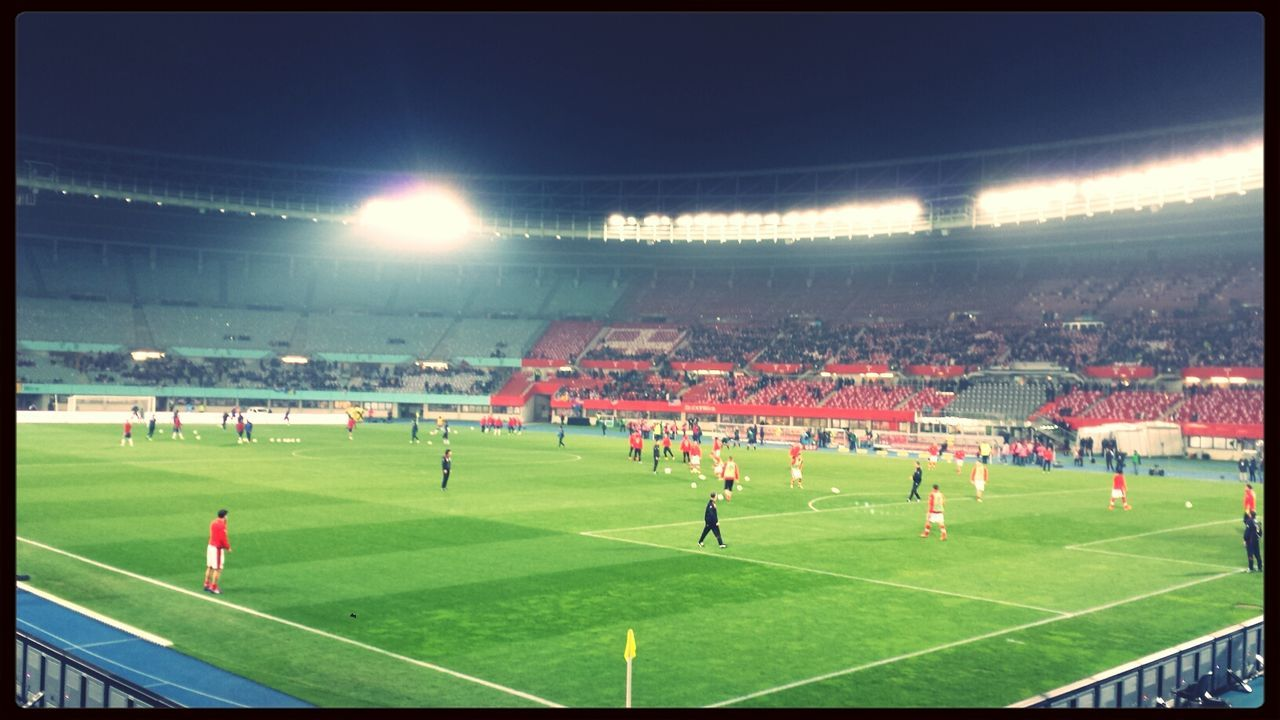 Soccer Austria vs USA Stadium