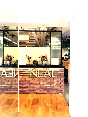 Office Entrance Neal Agency Interior Design