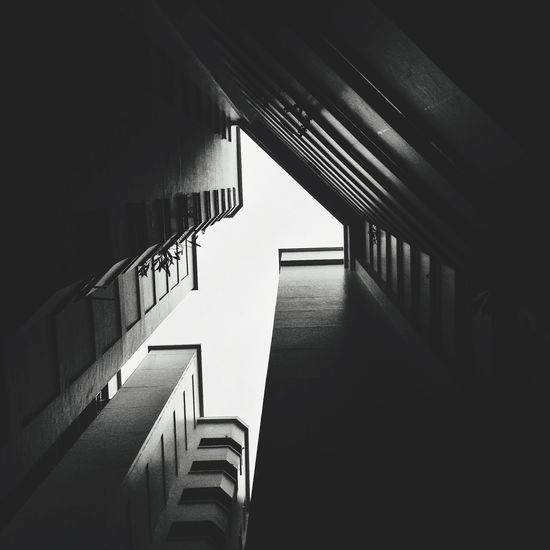 Hope Railing Staircase Built Structure Steps And Staircases Architecture Steps In A Row Indoors  Stairs The Way Forward No People Hand Rail Day The Architect - 2017 EyeEm Awards