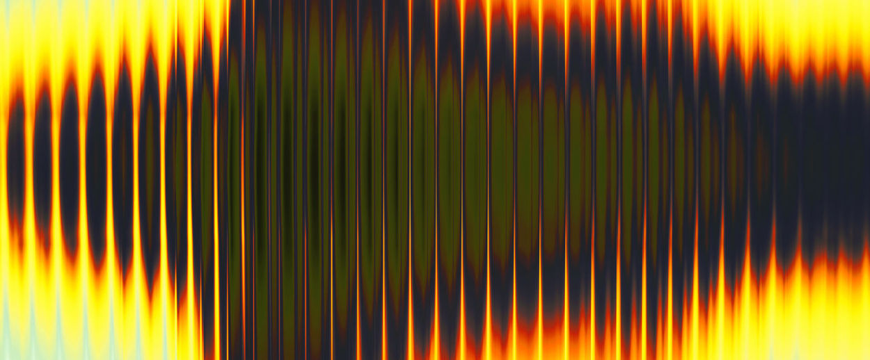 Sound waves - Abstract definition of a sound wave closeup. Sound Wave Sound Wave Abstract Pattern Background Steel Golden Yellow Metal ArtWork Art Creative Different Illustration Design Artistic Modern Concept Colorful Digital Contemporary Creativity Graphic Decorative Unique Fantasy Style Stylish Art Piece Technique Sureal Dreamy Effect Beautiful Unusual Surrealism Closeup Backgrounds Textured  Striped Multi Colored No People Full Frame Close-up Technology Orange Color Heat - Temperature Illuminated Light - Natural Phenomenon Indoors  Red Light Beam Motion Abstract Backgrounds Textured Effect