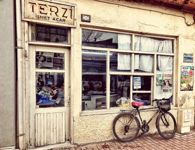 Turkey Bycicle Bike Building Exterior Architecture Built Structure Bicycle Day Door Text Building Outdoors City Window