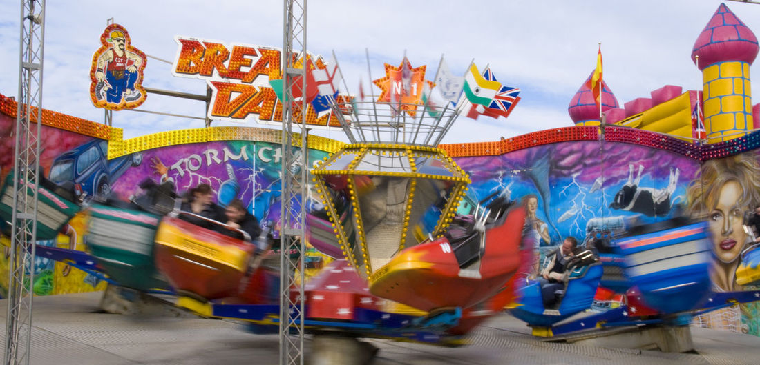 lots of fun Blackpool North Pier Amusement Park Amusement Park Ride Animal Representation Arts Culture And Entertainment Blurred Motion Carousel Carousel Horses Day Enjoyment Fun Horse Leisure Activity Merry-go-round Motion Multi Colored Outdoors Real People Ride Sky Traditional Festival