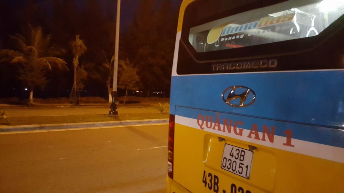 The final bus stop. Outdoors Da Nang Vietnam Night Life Nightlife Busses Public Transport