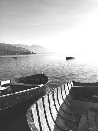 Ochrid Lake Macedonia Water Nautical Vessel Day Nature Sky No People Scenics Beauty In Nature Outdoors Ohrid Ohridlake Macedonia